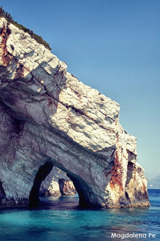 The tale of Zante's blue caves.