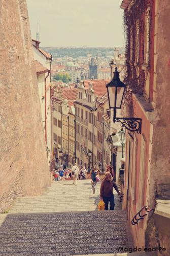 The tale of Prague.